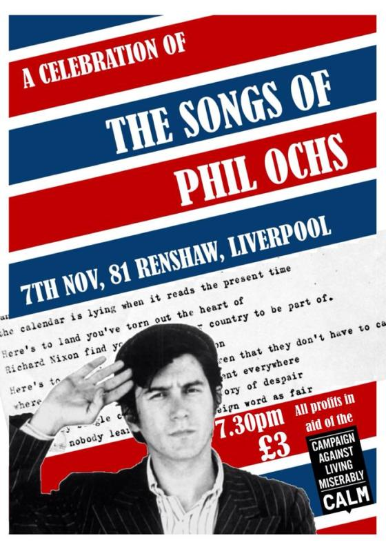 A Celebration of The Songs of Phil Ochs