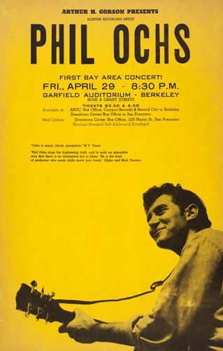 Phil Ochs - Berkeley 1966 concert.